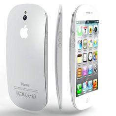 iPhone 5 curved liquid metal design.