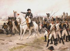 Napoleon à Friedland par  Edouard Debat-Ponsan
