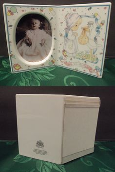 Cunill Orfebres Sterling Silver Baby Picture Frame Giraffe Bunny