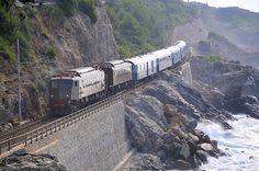 We took this train from Pisa to Boliasco -- Liguria