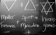Hieros Gamos ou hiérogamie (du grec ancien hieros = sacré et gamos = mariage, rapport sexuel), désigne dans la mythologie, une union sacrée à caractère sexuel, un accouplement (parfois mariage) entre deux divinités ou entre un dieu et un homme ou une femme. Dans le domaine de la religion, elle désigne la représentation rituelle par des humains de cette alliance sexuelle divine source : wikipédia