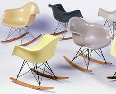 rocking chair RAR vintage, by Charles et Ray Eames