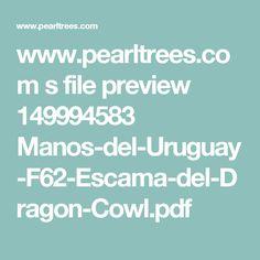 www.pearltrees.com s file preview 149994583 Manos-del-Uruguay-F62-Escama-del-Dragon-Cowl.pdf