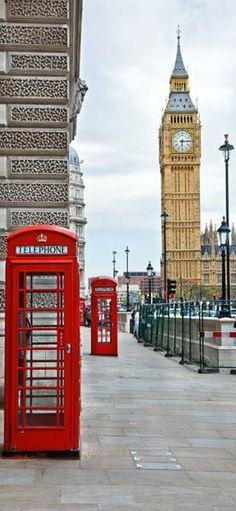 Фотообои дверные: Лондон