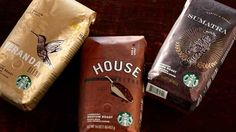 Starbucks unveils new packaging | Packaging | Creative Bloq -- beautiful and easy to decipher between the different brews available now