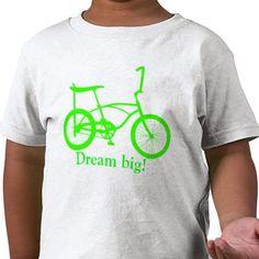 Banana Bike, the best set of wheels ever. Toddler shirt, dream big!