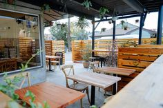 Check Out All Time, Los Feliz's New Coffee and Breakfast Campout Spot - Eater LA
