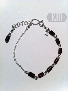 Items similar to Red Carnelian Cylinders Bracelet. Rich Burgundy Orange Tube Beads 925 Sterling Silver Half Chain Opaque Stack Daily Casual Genuine Original on Etsy Jewelry Design, Unique Jewelry, Carnelian, Burgundy, Personalized Items, Sterling Silver, Chain, Orange, Beads