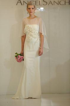 Merci New York reviews the new Angel Sanchez Fall 2012 collection:  #wedding #dresses http://mercinewyork.blogspot.com/2011/11/bridal-market-bits-angel-sanchez-fall.html