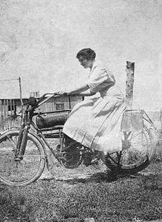 Ruth Vining in 1912...