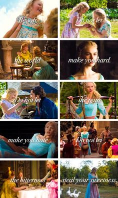 Cinderella is one of my favorite movies, and I love the new version of it, too!