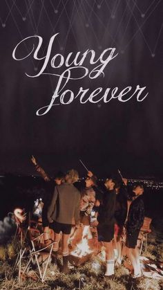 BTS BANGTAN BOYS YOUNG FOREVER