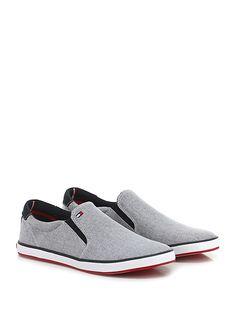 Sneaker Grey Tommy Hilfiger - Le Follie Shop. Scarpe Da UomoTommy ... a637fbd810a
