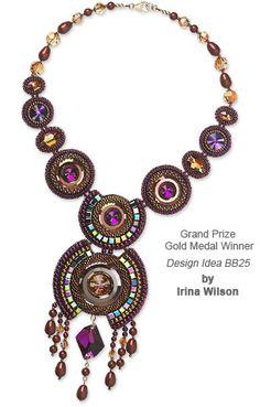 Irina Wilson Grand Prize Winner at Fire Mountain Gems