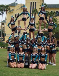 Cheerleading isn't just a sport it's a pride