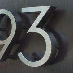 Home Depot Modern House Numbers Curb Appeal Curb Appeal