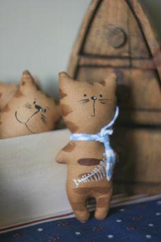 Вкусные рукоделия: Маленькие пряничные коты