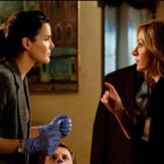 """Tess Gerritsen's """"Rizzoli and Isles"""". TV show is based on her awesome books. Real page turners!!!"""