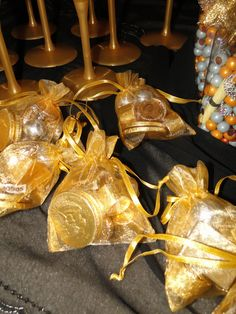 Gotta have gold for the girls!!! Arabian nights party favors