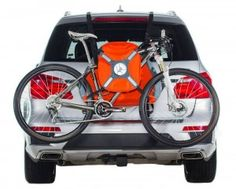 TrunkMonkey – fully portable, inflatable bike rack