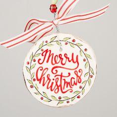 Glory Haus - Merry Christmas Flat Ornament
