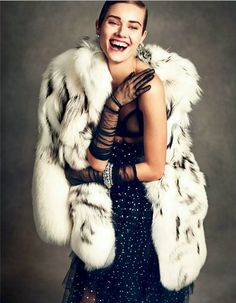 """""""A Look Back At Chic"""" Vogue Japan January 2015"""
