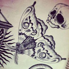 #Moth#lovetattoo