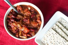 October 12th Meal Plan Photos - BBQ Bean Stew
