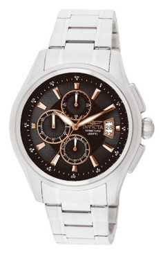 Invicta Invicta Specialty Chronograph Black Dial Stainless Steel Mens – Goldia.com
