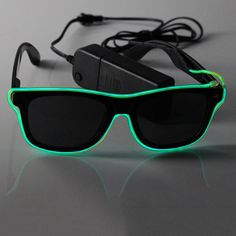 Shenzhen Greatfavonian Electronic Company is specialized in all kinds of production of EL Sunglasses, factory prices, quality service, welcome to order.