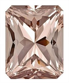 Nice Cut and Size, Lovely Morganite Genuine Gem for SALE, Radiant Cut, carats by AfricaGems Minerals And Gemstones, Crystals Minerals, Rocks And Minerals, Stones And Crystals, Loose Gemstones, Gem Stones, Diamond Gemstone, Gemstone Colors, Gemstone Jewelry
