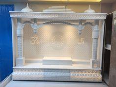 Pooja Room Door Design, Home Room Design, Home Interior Design, Temple Design For Home, Mandir Design, House Architecture Styles, Minimal House Design, Washbasin Design, Bedroom Layouts