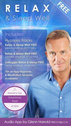 Relax & Sleep Well by Glenn Harrold: A Relaxation Self-Hypnosis Meditation by Glenn Harrold