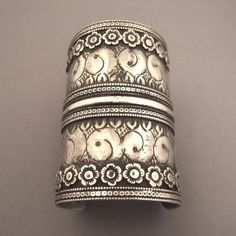 This ancient tribal cuff with talismans design from Turkmenistan ( early 20th century) is a collector's piece