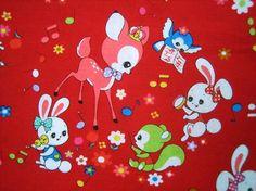 Reprinted Japanese Retro Pattern Cotton Fabric