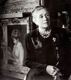 French designer Jeanne Lanvin, the eldest of 11 children became an apprentice milliner at Madame Félix in Paris at age of 16 and trained at dressmaker Talbot. In 1909, Lanvin joined the Syndicat de la Couture, which marked her formal status as a couturière. In the 1920s, Lanvin opened shops devoted to home décor, menswear, furs, and lingerie.  Her most significant expansion was the creation of Lanvin Parfums SA in 1924 and the introduction of her signature, fragrance Arpège, in 1927.