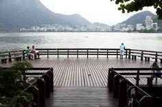 Lagoa Rodrigo de Freitas   Rio de Janeiro #riodejaneiro #brazil