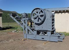 An Austin-Western Model Jaw Crusher. Manufactured up until the middle Austin-Western made a small range of utility crushing equipment broadly intended for railway ballast yards. They are now very rare. Innovative Companies, Yards, Westerns, 1960s, Middle, Range, America, Activities, Fun