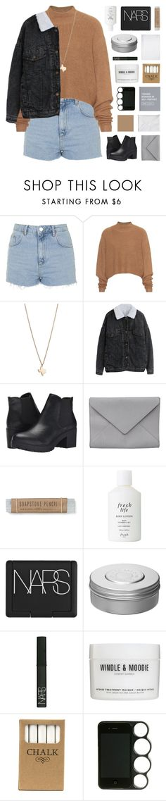 """""""DEVARAJA"""" by bosspresident ❤ liked on Polyvore featuring Topshop, Acne Studios, Minor Obsessions, Steve Madden, Ann Demeulemeester, Fresh, NARS Cosmetics, Hermès, Windle & Moodie and Jayson Home"""