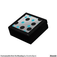 Customizable Dots On Blending Keepsake Boxes
