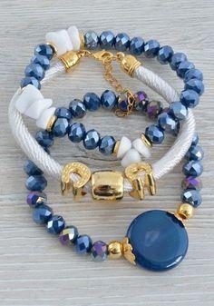 Jewelry Crafts, Jewelry Art, Beaded Jewelry, Jewelry Accessories, Fashion Jewelry, Jewelry Design, Gemstone Bracelets, Handmade Bracelets, Jewelry Bracelets