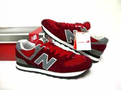 #NB #NewBalance 574 Red/Grey