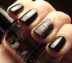 Chloe's Nails: Some Leopard Fun