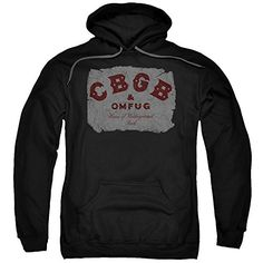 CBGB - Crumbled Logo - Adult Hoodie Fleece Sweatshirt - http://bandshirts.org/product/cbgb-crumbled-logo-adult-hoodie-fleece-sweatshirt/