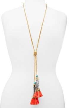 BaubleBar 'Majorca' Lariat Necklace