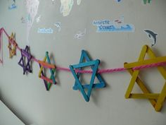 Never thought of stringing them together before. Gonna make now and use for both Hanukkah and Sukkot