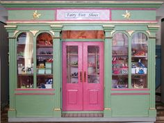 Fairy Feet Shoes: A Miniature Shoe Shop made in Doll House size 1/12th Scale