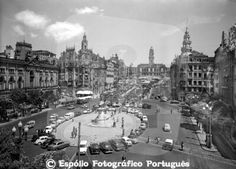 Espólio Fotográfico Português - Pesquisa Porto Portugal, Douro, Salvador, Paris Skyline, City, Photos, Travel, Vintage Posters, Black White Photos