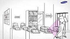 Wie sieht der moderne Einzelhandel aus? Ein Fallbeispiel von Samsung. #DigitalSignage http://moderne-buerowelten.de/digital-signage.html