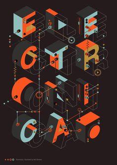 Neil Stevens, graphic design, poster, typography